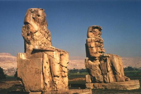 Colossi of Memnon, Luxor trip