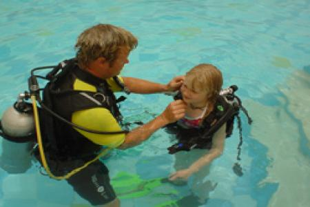 Dive with your kids