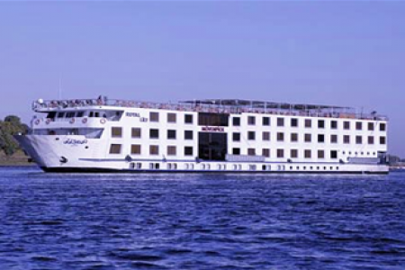 El barco de Movenpick Royal lily