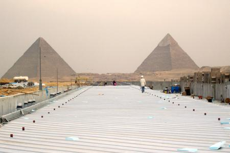 Pyramids of Giza, Overnight Cairo and Luxor tour