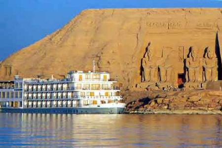 Kasr Ibrim Ship Lake Nasser