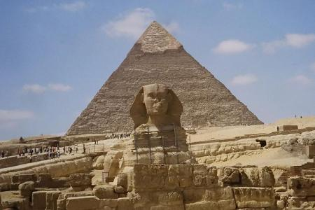 Sphinx at Giza, Cairo Trip