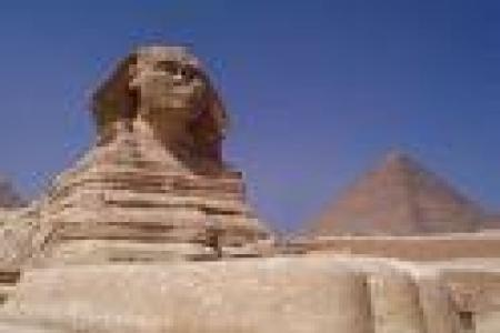 Sphinx in Giza