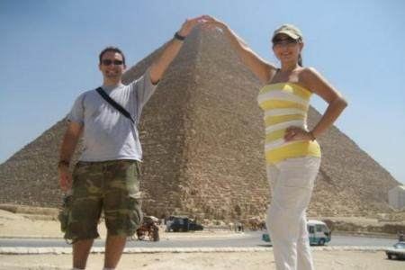 Giza Pyramids, Egypt, classic tour package